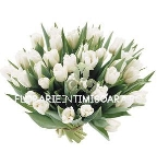 Buchet lalele albe